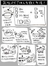 サムネイル:おなべでごはんを炊く方法