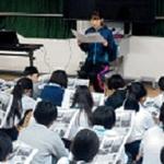 本紙連載教材に震災体験伝える 神戸・西灘小で授業