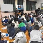 神戸・美野丘小で本紙社員が震災授業