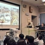 金居阪神総局長が出前授業 当時の取材体験披露 西宮・安井小