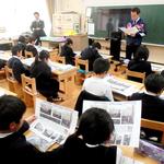 本紙震災連載、小学2年に読み聞かせ 丹波篠山・城東小