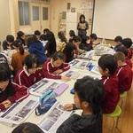 本紙震災連載読み聞かせ 県内小学校で
