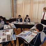 ウオークラリーの体験を新聞にしよう 本紙社員が指導 洲本・洲浜中